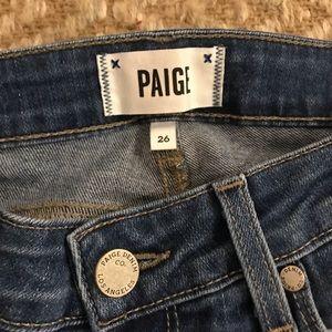 Paige Verdugo Cropped Skinny Jeans